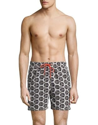 Geometric Swim Shorts...