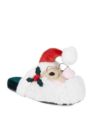 Santa Velvet Slippers by Katy Perry