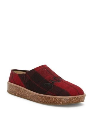 Tillie Plaid Wool Mules by Ed Ellen Degeneres