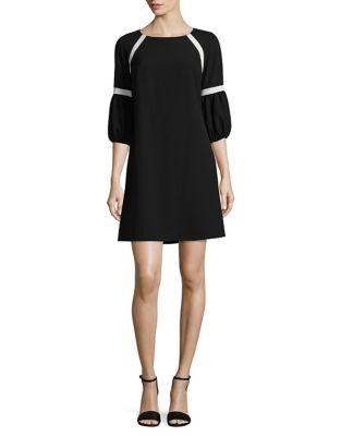 Puffed Cuff Shift Dress by Gabby Skye