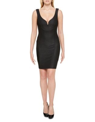 Sweetheart Neck Sheath Dress by Guess