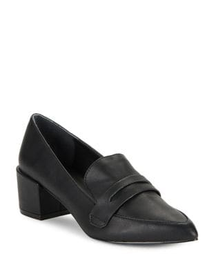 Wilma Leather Penny Loafer by Charles by Charles David