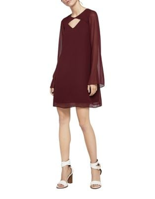 Cutout Roundneck Shift Dress by BCBGeneration