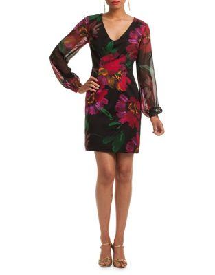 Gibb Floral Sheath Dress by Trina Turk