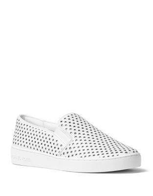 Keaton Star Leather Sneakers by MICHAEL MICHAEL KORS