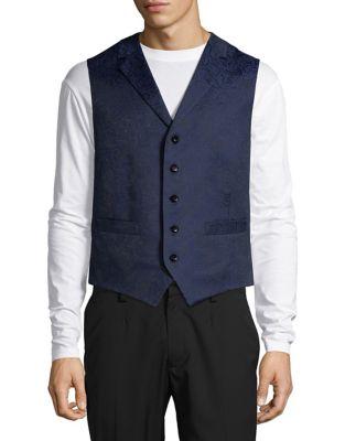 Floral Lace Vest @...