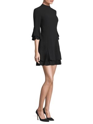 Layered Bell Sleeve A-Line Dress by Laundry by Shelli Segal