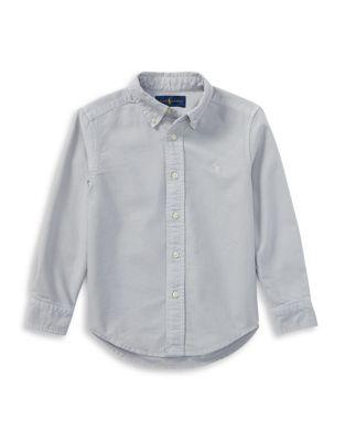 Little Boy's Cotton Oxford...