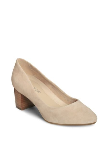 Callan Suede Pumps by Franco Sarto