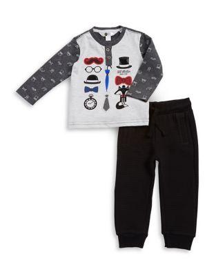 Baby Boys TwoPiece Lil Mister Top  Pants Set