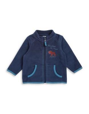 Baby Boys Full Zip Fleece Jacket