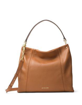 Lex Leather Hobo Bag...