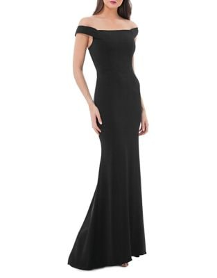 Off-The-Shoulder Mermaid Gown by Carmen Marc Valvo