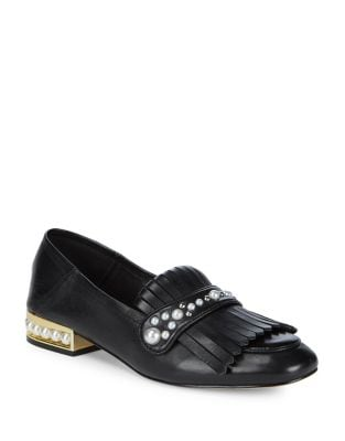 Blake Faux Pearl-Trimmed...