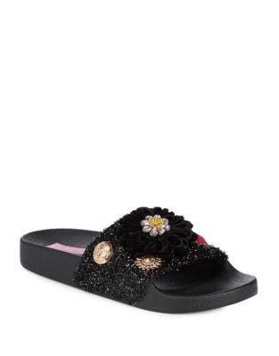 Tori Slide Sandals by Betsey Johnson