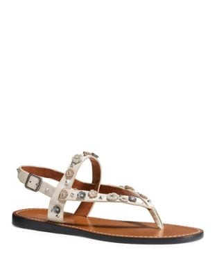 Hudson Leather Sandals by COACH