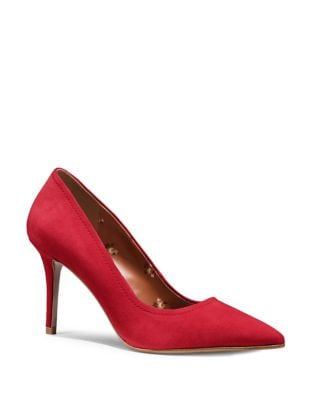 Waverly Suede Pumps by COACH