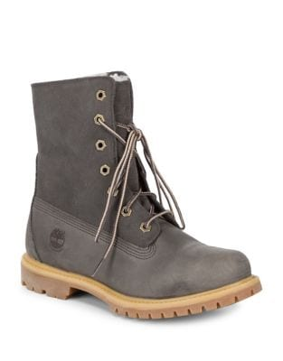 Authentics Fleece Fold-Down Boot by Timberland