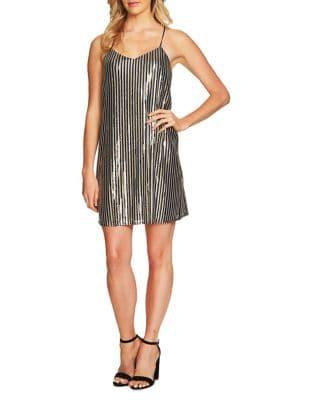 Mia Stripe Slip Dress by Cynthia Steffe