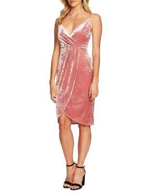 Audrey Velvet Wrap Dress by Cynthia Steffe