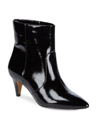 Dee Patent Leather Booties by DV by Dolce Vita