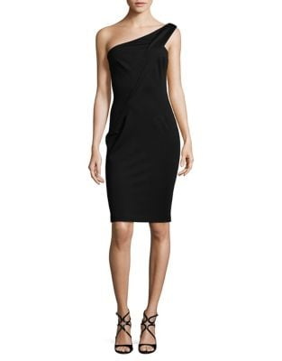 One Shoulder Bodycon Dress by AQ/AQ