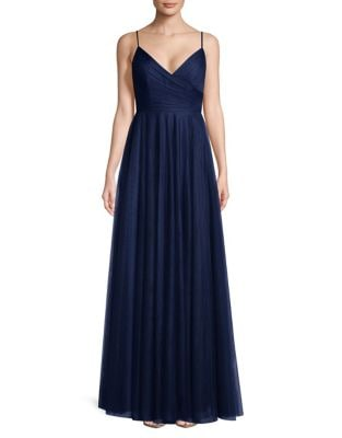 Spaghetti Strap Floor-Length Gown by Jenny Yoo