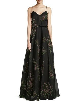 Floral Blouson Gown by Jenny Yoo