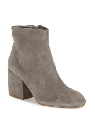 Quincey Suede Ankle Boots by Charles by Charles David