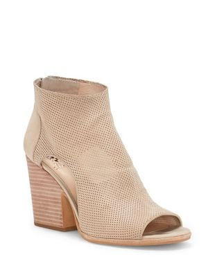 Bevina Kid Suede Shooties by Vince Camuto