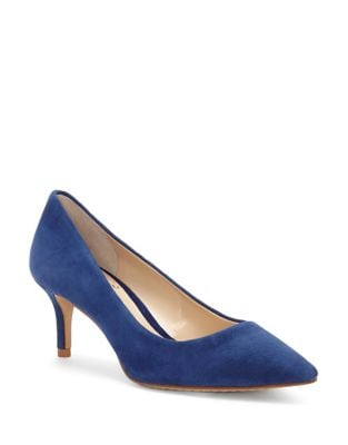 Kemira Suede Pumps by Vince Camuto