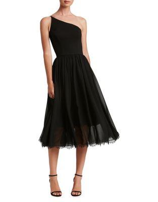 Eliza One-Shoulder Midi Dress by Dress The Population