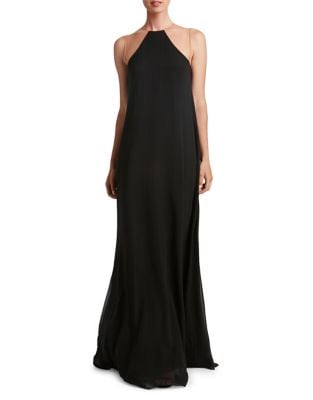 Jamy Floor-Length Chiffon Dress by Dress The Population