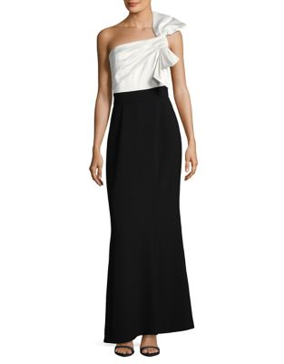 Bow-Shoulder Gown by Vince Camuto