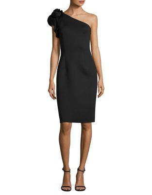 Sleeveless Embellished Fit-&-Flare Dress by Eliza J