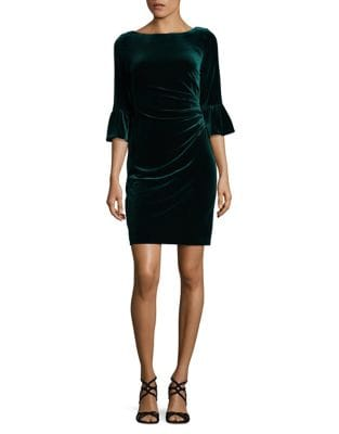 Velvet Bodycon Dress by Vince Camuto
