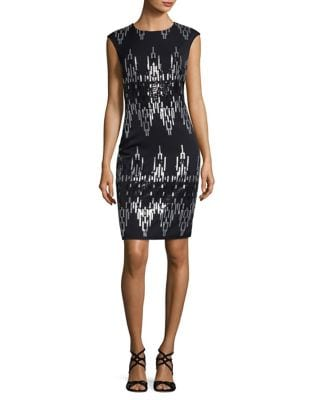 Sequin Sheath Dress by Vince Camuto