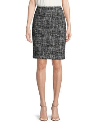 Knee-Length Pencil Skirt...
