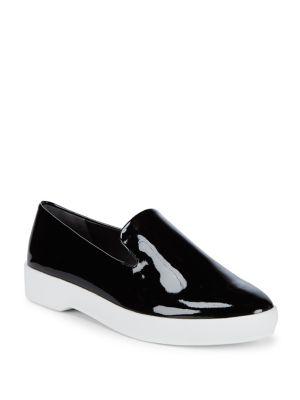 Phia Patent Slip-On Loafers...