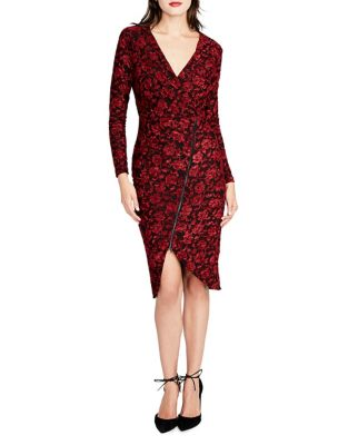 Floral Long-Sleeve Sheath Dress by RACHEL Rachel Roy