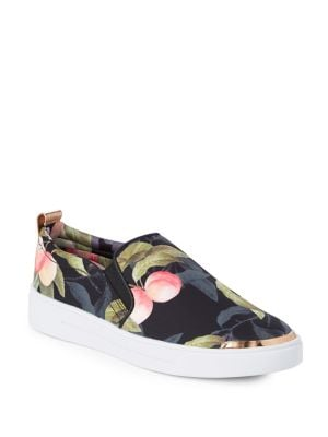 Tancey Floral Slip-On Sneakers 500087778071