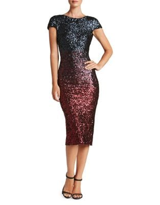 Marcella Sequined Bodycon Dress by Dress The Population