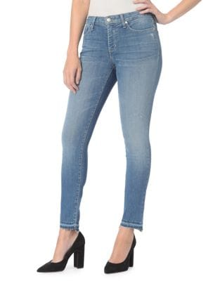 Ami Ankle Step Release Hem Jeans 500087782288