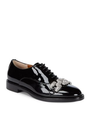 Dara Classic Leather Oxfords by Marc Jacobs