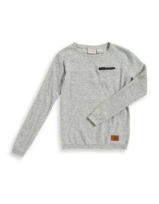 Boy's Heathered Sweater...