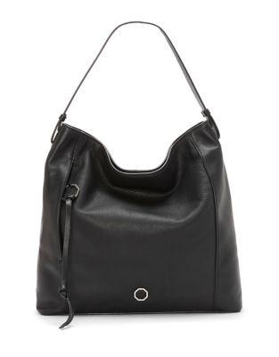 Averi Leather Hobo Bag...