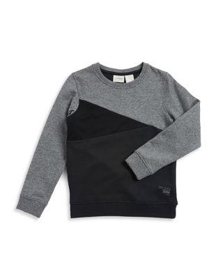 Boy's Colorblocked Sweatshirt...