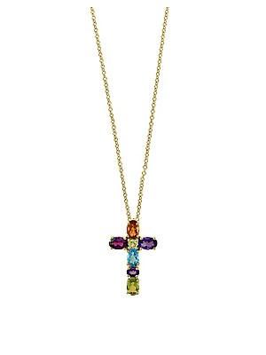 Effy - Mosaic Multi-Stone Pendant Necklace