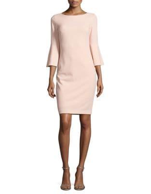 Sale alerts for  Bell-Sleeve Sheath Dress - Covvet