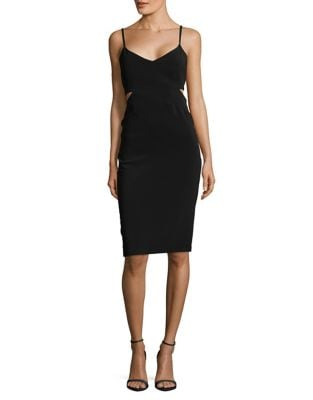 Cutout Bodycon Dress by Laundry by Shelli Segal